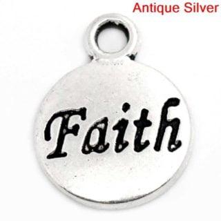 Bedel faith zilver