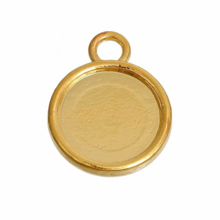 Cabochons setting goud rond