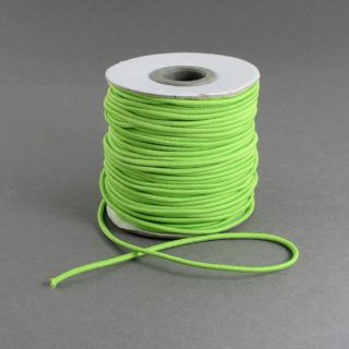 Elastiek koord groen 1mm