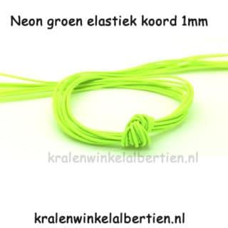 Elastisch sieraden elastiek 1mm dik armbandje maken