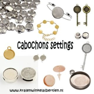 cabochons settings