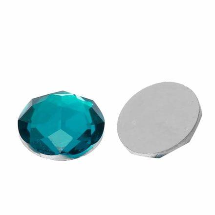 strass steentjes blauw groen