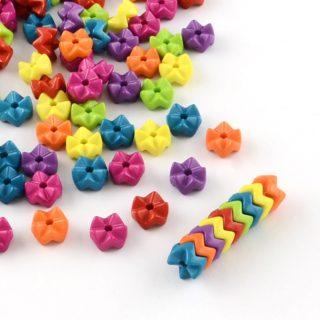 Gekleurde kralen 9mm