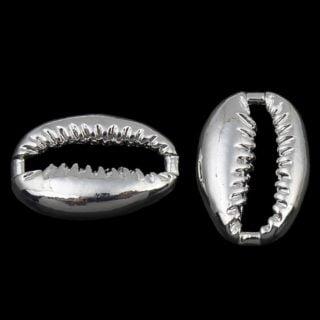 Kauri schelp zilver