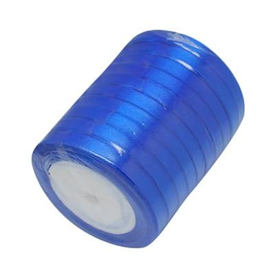 Satijn lint blauw 6mm