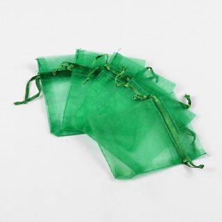 Organza zakjes groen