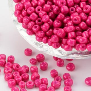 Rocailles roze 4mm