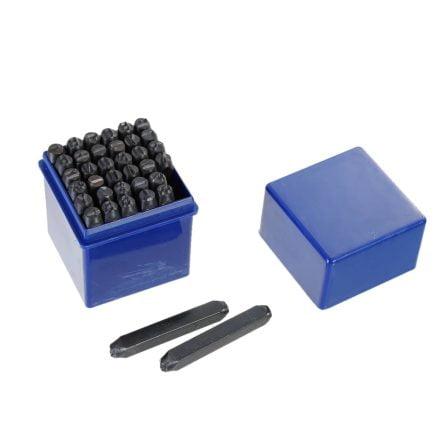 6mm slagcijfers en slagletters