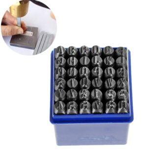 slagletters slagcijfers & 6mm leer metaal