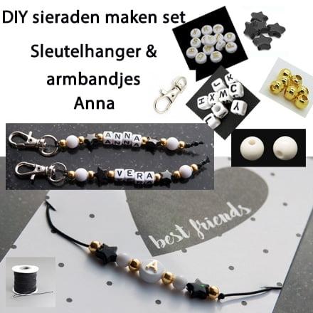 Wonderlijk DIY sieraden maken set sleutelhangers & armbandjes ID-98