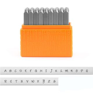 Slagletters bridgette impressart metaal leer 3mm