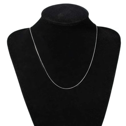 Dunne ketting stainless steel 304 50cm