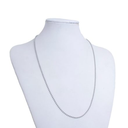 304 stainless steel ball ketting 60cm