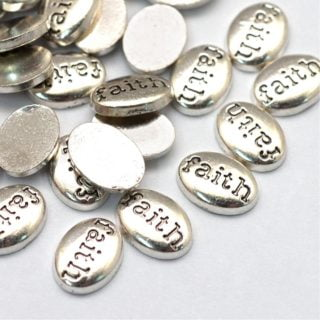 Floating charms faith memory locket medaillons