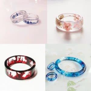 Ringen mal voor sieraden epoxy giethars