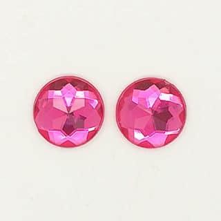 Strass stenen bling bling zelf sieraden maken 12mm roze