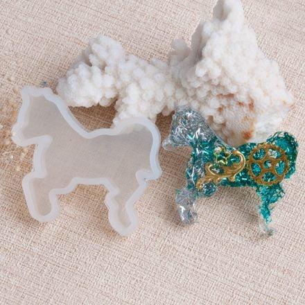 Paarden mal siliconen epoxy gierhars sieraden