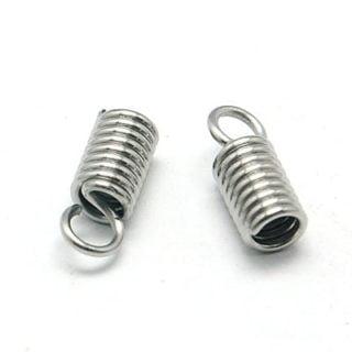 Stainless steel sieraden onderdelen veterklemmen
