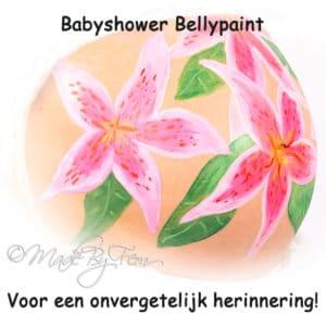 Buikschildering Heerenveen drachten foto
