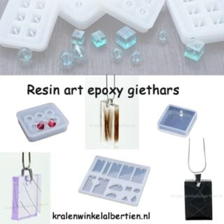 Resin art epoxy giethars