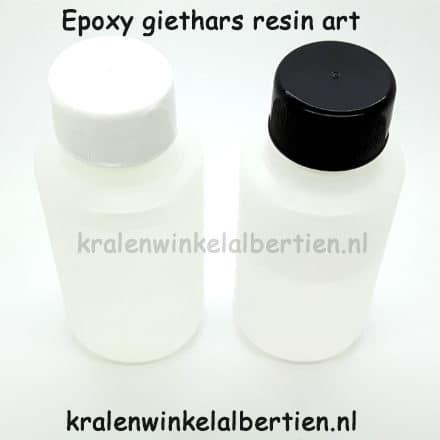 Epoxy resin hars sieraden zelf maken kralen hangers paardenhaar
