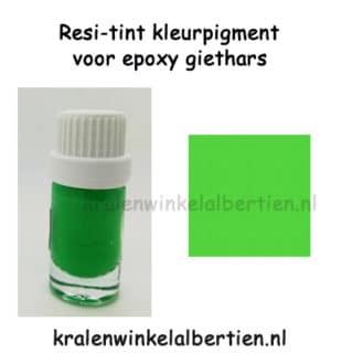 Gras groene kleurpigment epoxy giet hars sieraden maken