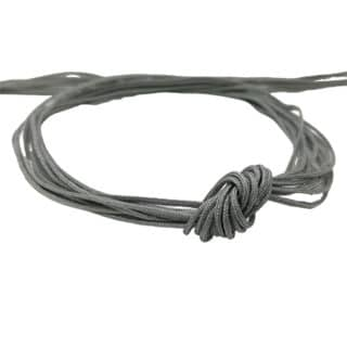 Nylon draad grijs 0.8mm macramé