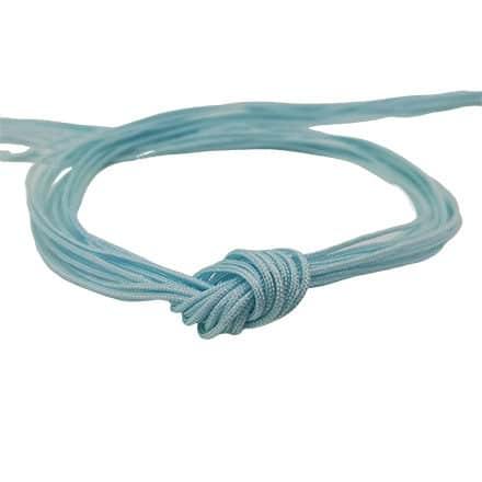 Nylon koord licht blauw 0.8mm macramé