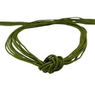 Nylon draad macramé 0.8mm olijf groen