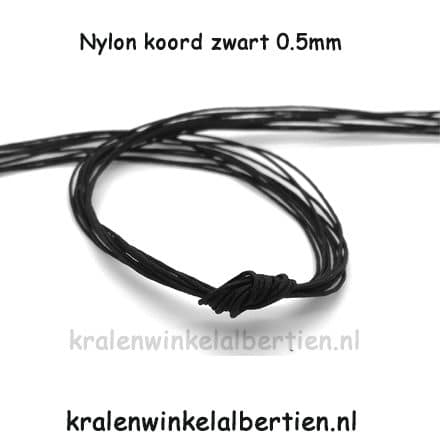 Nylon draad 0.5mm dun sieraden maken