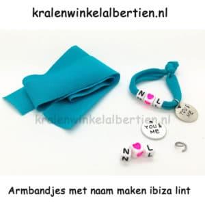 Zelf elastische armbandjes maken wat heb je nodig