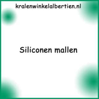 Siliconen mallen