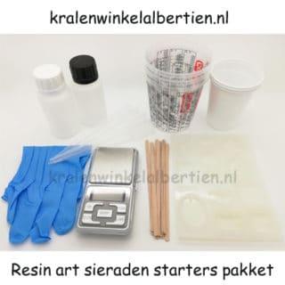 Start pakket zelf sieraden maken resin art epoxy giethars alles wat heb je nodig?