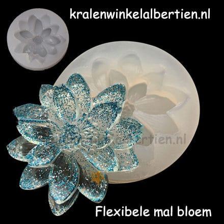 Flexibele bloemen mallen resin art zelf sieraden maken epoxy gietehars
