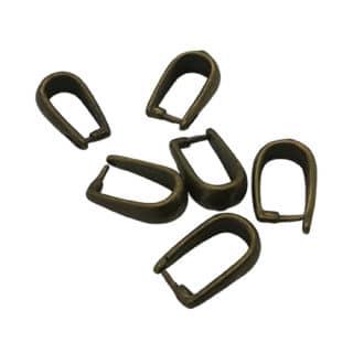 Bail hangers brons resin art sieaden maken ringetjes
