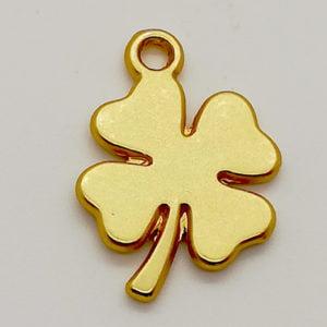 Bedel klaver vier goud sieraden zelf maken bedelarmbandjes