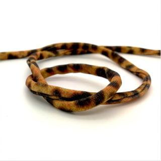 Panterprint lint elastiek koord tijger luipaarden dieren prints zelf armbanden maken