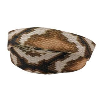Elastiek koord 1.5cm breed snake skin print