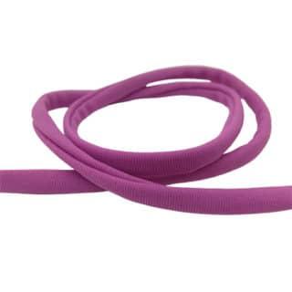 Sieraden elastiek lint koord paars trendy armbanden zelf maken