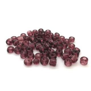 Rocailles glaskraaltjes zelf sieraden maken armbandje klein 4mm violet