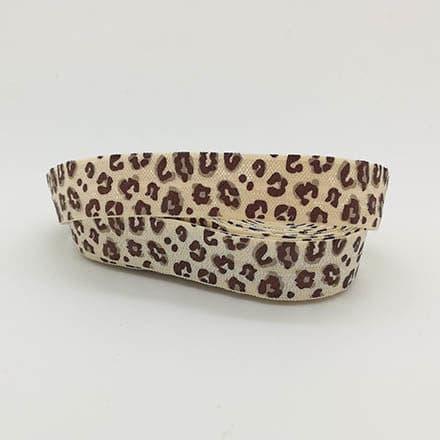 Breed sieraden elastiek koord panterprint nude zelf armbandjes maken trendy