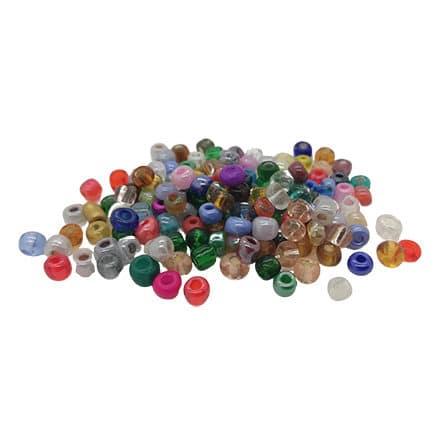Seed beads 4mm kleine glaskralen mixed color
