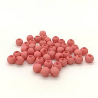Ronde kleine kraaltjes 4mm lantana pink zelf sieraden maken