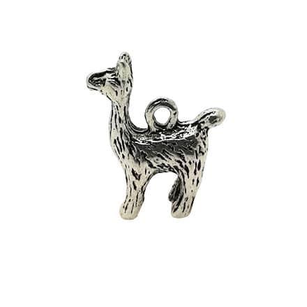 Alpaca lama bedel zilver 3d armbandjes maken