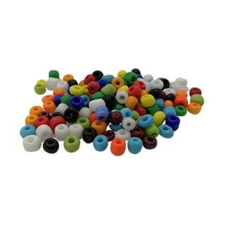 Rocaille kleine glas kraaltjes kleuren mix 4mm