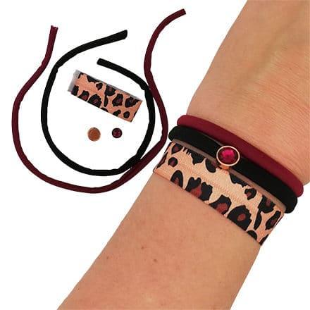 Compleet DIY setje elastische armbandjes zelf maken