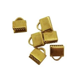 Gouden lintklem 7.5mm sieraden maken