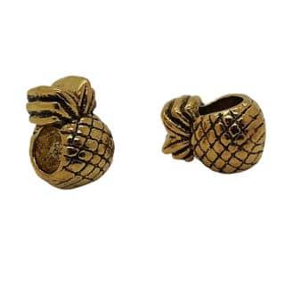 Ananas kraal goud groot rijggat sieraden maken