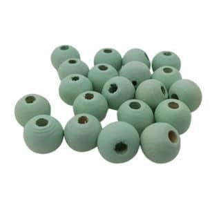 Crysolite groene kralen 8mm rond hout