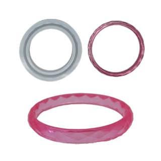 Silicone armband mal flexibel kinderarmband epoxy gieten